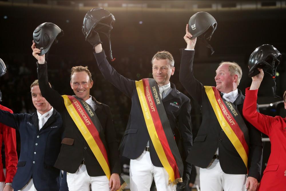 Pr12 - Deutsche Meisterschaft der Landesmeister - Teamwertung - Siegerehrung Schleswig-Holstein (Jörg Kreutzmann, Thorsten Wittenberg, Carsten-Otto Nagel)