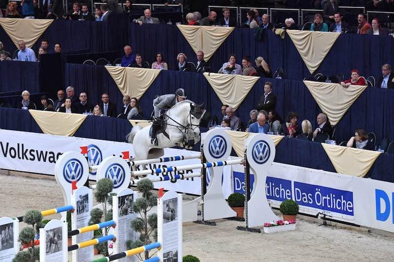 Christian Kukuk und Cordess gewannen den Großen Preis der Volkswagen AG in Braunschweig. (Foto: Fotodesign Feldhaus)