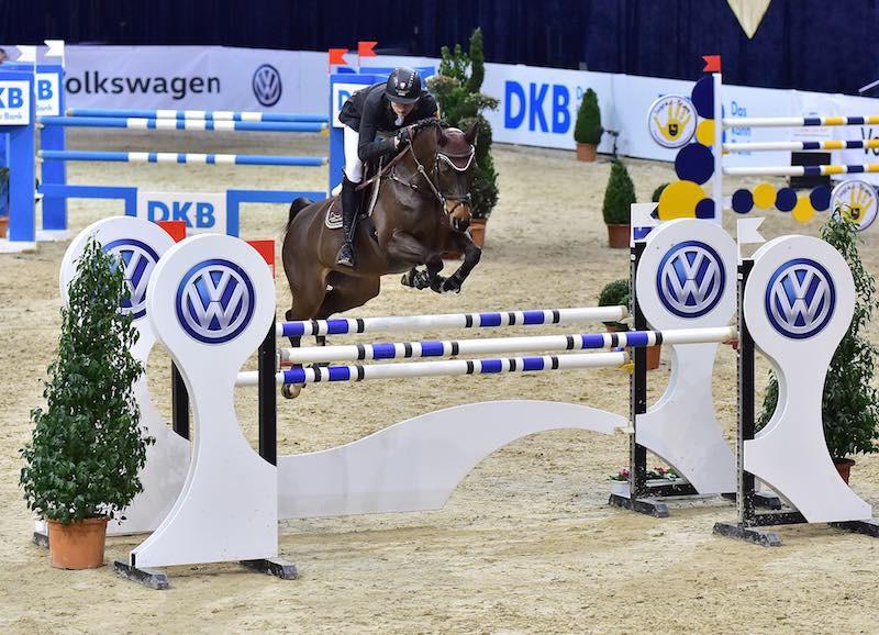 Gewann 2016 das HGW-Bundesnachwuchschampionat bei den Löwen Classics - Max Haunhorst aus Hagen a.T.W.. (Foto: Fotodesign Feldhaus)